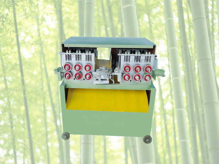 bamboo sheets slicing machine