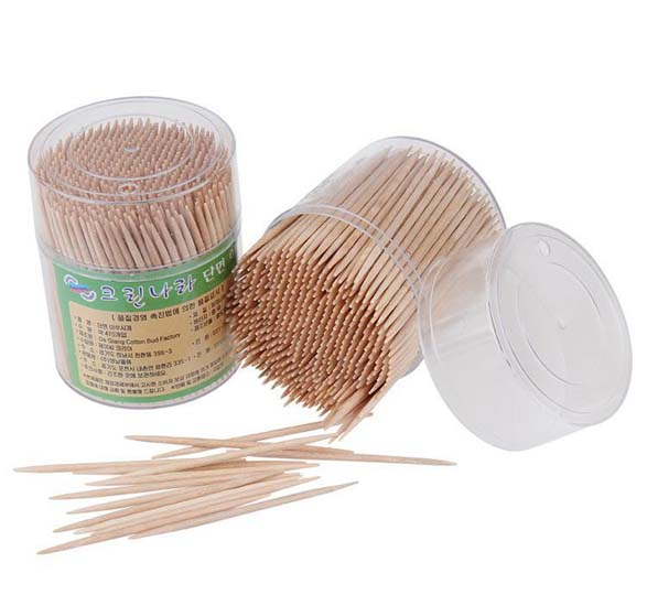 commonly used toothpicks made by toothpick making machines