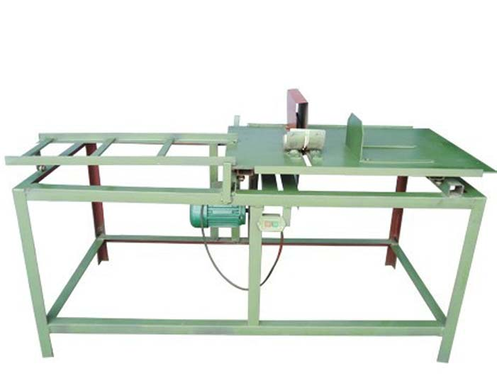 electric wood bamboo stick sawing machine