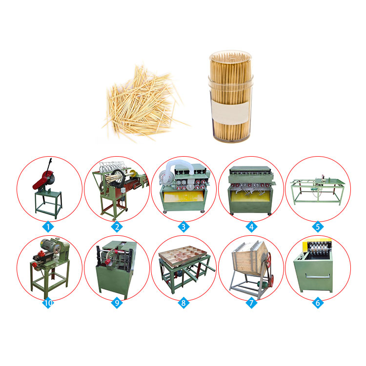 professional bamboo toothpick processing line
