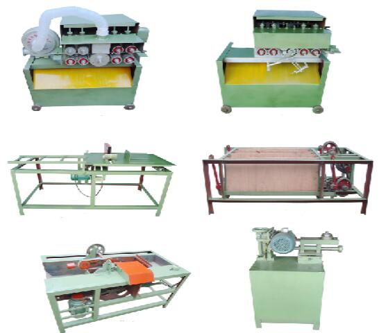 wood toothpick processing machines