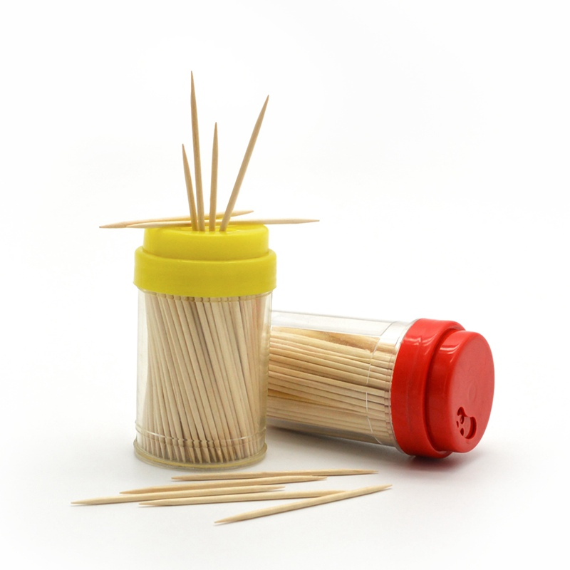 bamboo toothpicks made by commercial toothpick machine
