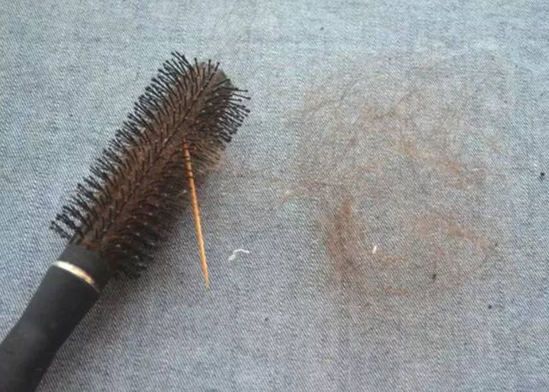 toothpick for cleaning comb