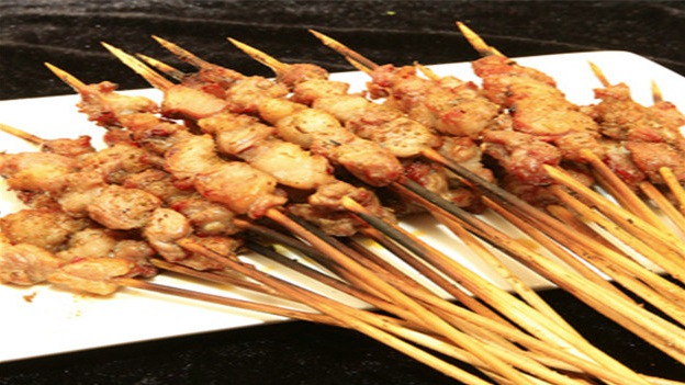 BBQ bamboo sticks