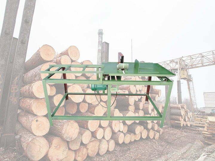 Wood sticks cutting machine