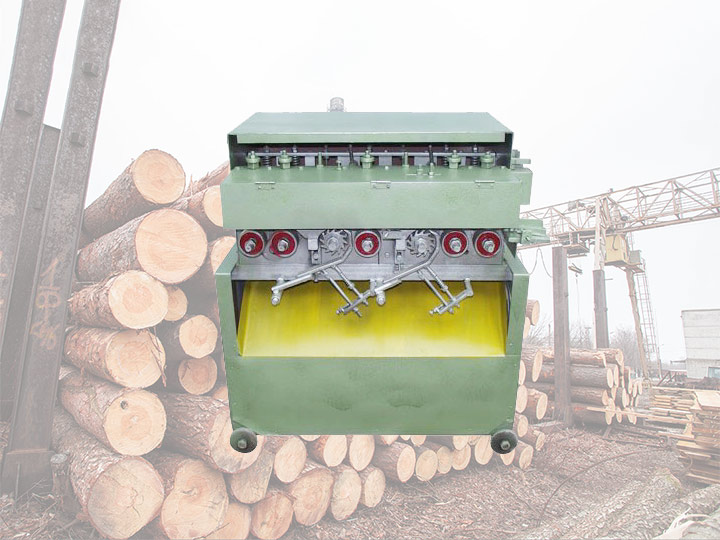 Wood sticks forming machine