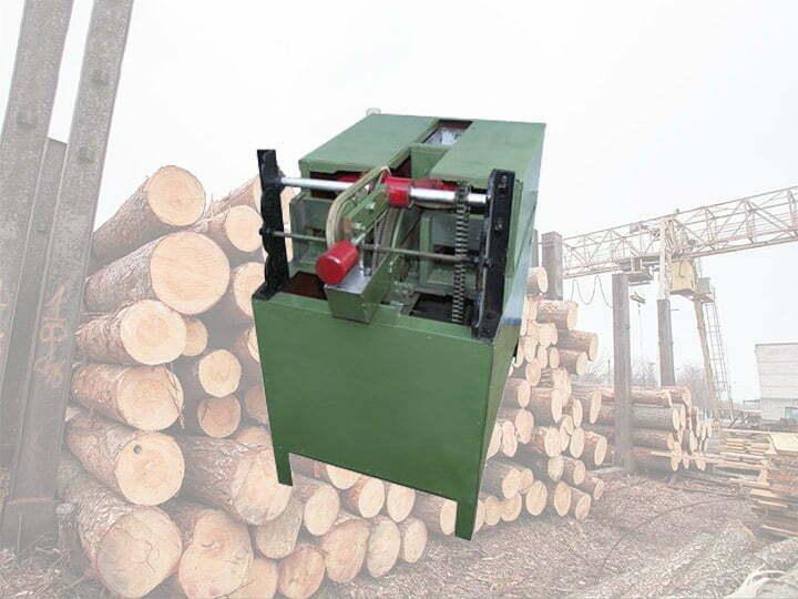 Wood sticks sharpening machine