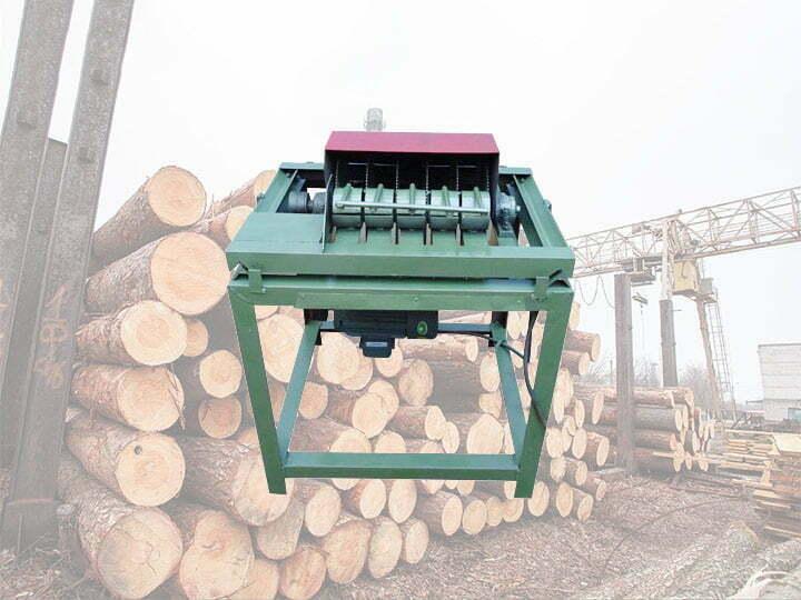 Wood sticks sizing machine
