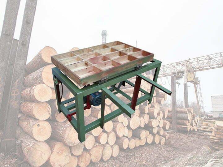 Wood sticks sorting machine