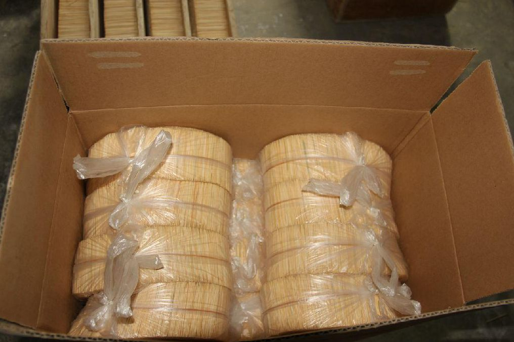 high-quality wood toothpicks made by toothpick machinery